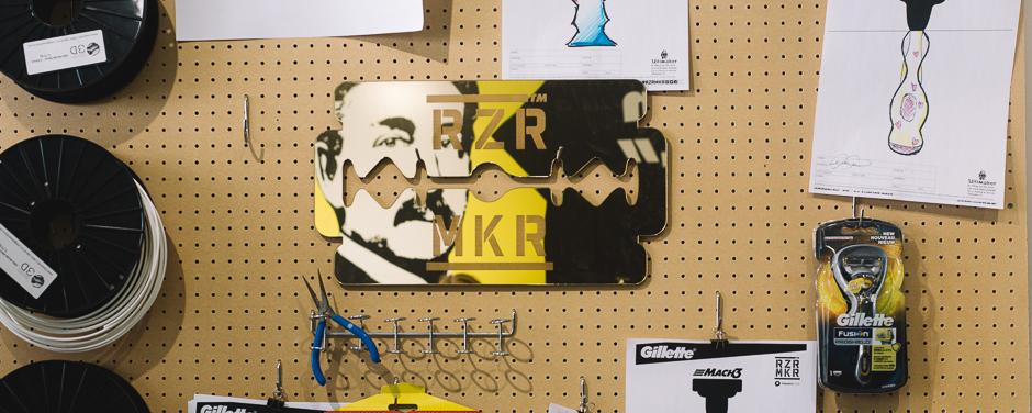 Gillette X Makers Cafe